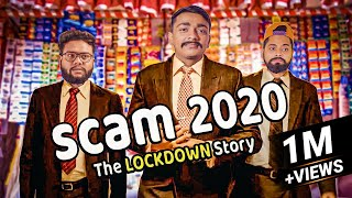 SCAM 1992 SPOOF | Harshad Mehta Parody | Amdavadi Man | Scam 2020 The Lockdown Story
