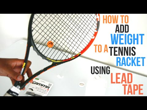 How to Add Weight/Lead Tape to Your Racket by Tennis Reviews