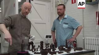 Imprimée en 3D gourmand du chocolat