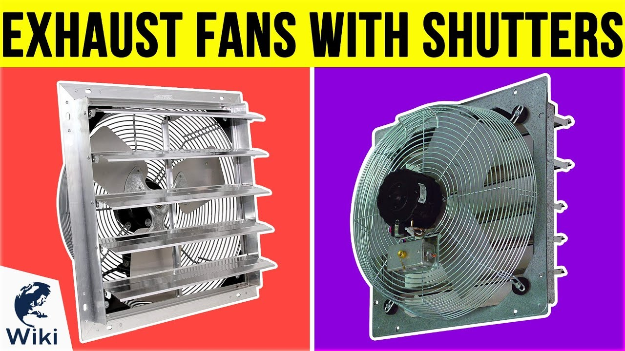 air extractor electric shutter exhaust