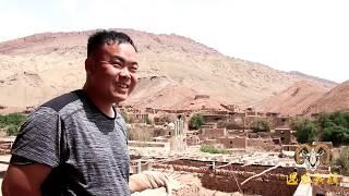 【胖纸哥】航拍5月吐鲁番吐峪沟大峡谷 胖纸哥发现了什么?一脸坏笑!吐鲁番的桑子哈密瓜都熟了呦