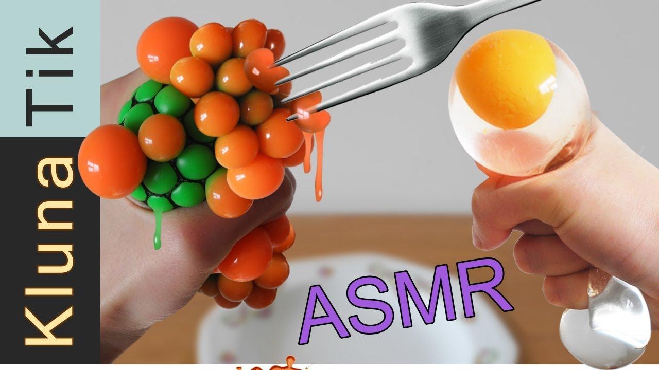 Stress Balls Squishy For Lunch Asmr Kluna Tik Dinner 23 Asmr Eating Sounds No Talk