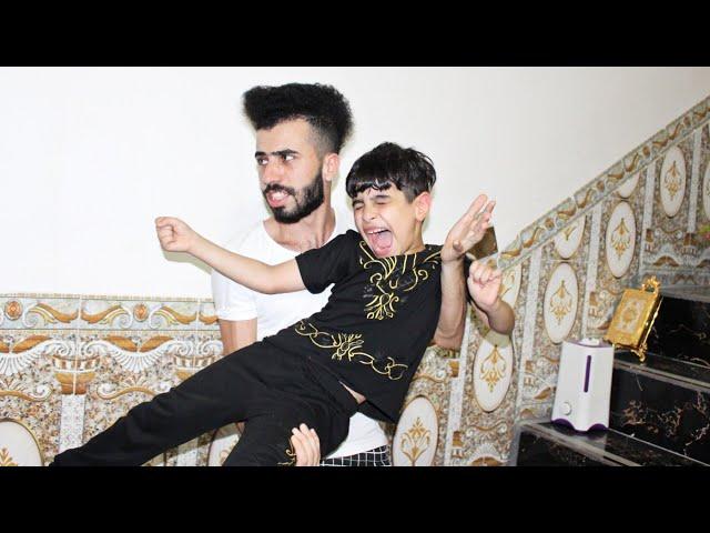 شباوي طلع ماسابح من العيد#الوصخ😂شوف شسويت بيه كاارثه