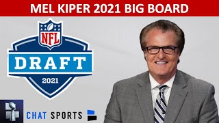 Mel Kiper's 2021 NFL Draft Big Board - Top 25 Prospect Rankings
