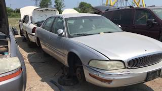2001 Buick Park Avenue at the Junk Yard