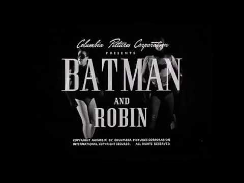 BATMAN AND ROBIN (1949) - Serial Intro