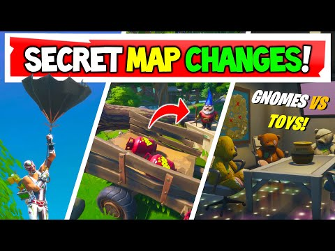 Fortnite | All Secret Map Changes V12.30