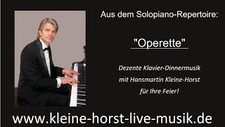 Klavier Dinnermusik: Operette