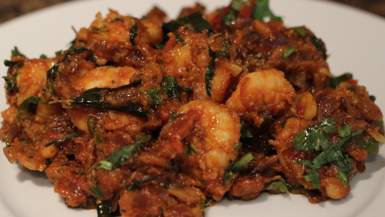 Prawn Shrimp Fry South Indian Style Youtube