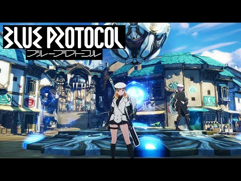Blue Protocol PC MMO - JP Alpha Test - Exploring