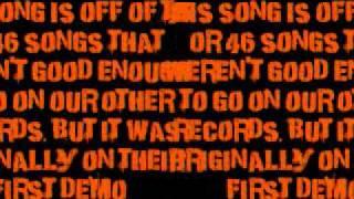 NOFX- Thalidomide Child Lyrics