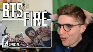 BTS - FIRE MV REACTION [FRENCH] [ENG SUB]