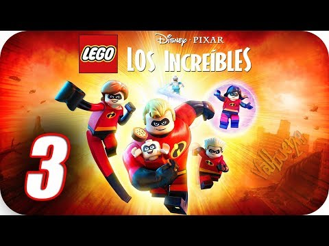 """LEGO Los Increíbles (The Incredibles) Gameplay Español - Capitulo 3 """"Revelaciones"""" thumbnail"""
