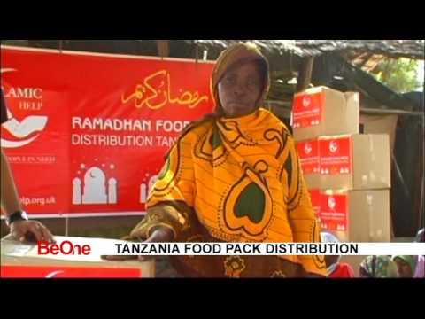 Tanzania food Distribution 2015