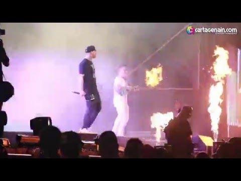 Nicky Jam en Vivo Metro Concierto Histórico Cartagena 2016