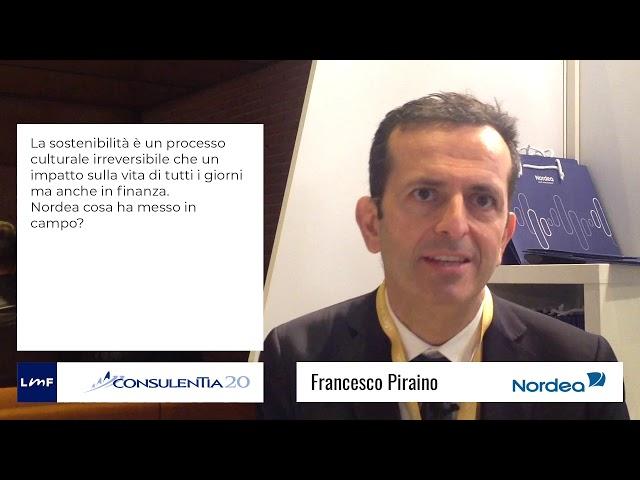 Consulentia 2020 - Francesco Piraino (Nordea)