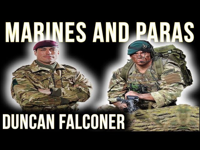 SBS Legend On Paras & Royal Marines | Duncan Falconer & Chris Thrall Discuss The Parachute Course