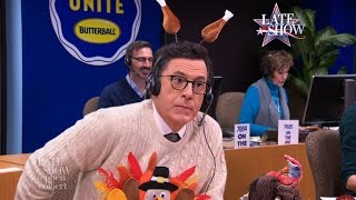 Stephen Colbert's Thanksgiving Turkey Tips (Part 1)