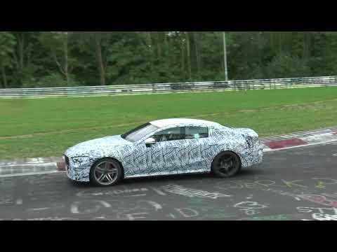 Mercedes-AMG GT 4-Door auf dem Nürburgring // Mercedes-Fans.de