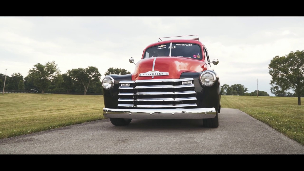 1953 Suburban Featuring LSX 376-B15 Crate Engine   2018 HOT ROD Power Tour