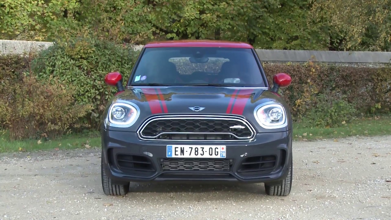 Essai Mini Countryman 20i 231ch John Cooper Works Exclusive Design