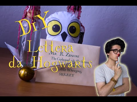 DIY - Realizza la tua personale Lettera da Hogwarts from YouTube · Duration:  5 minutes 55 seconds