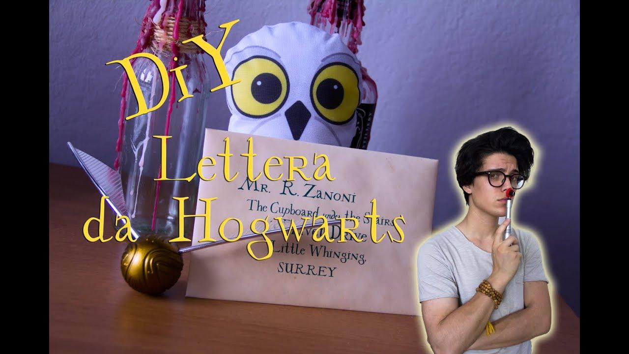 Diy realizza la tua personale lettera da hogwarts youtube - Realizza la tua cucina ...