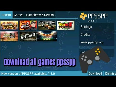 Only[40 mb]Download All PC And PSP Games On Android Phone Ex
