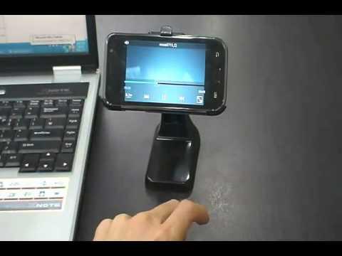 Samsung i9000/i500 Fascinate/Vibrant Galaxy S Luxury Desk Mount/Cradle/Holder