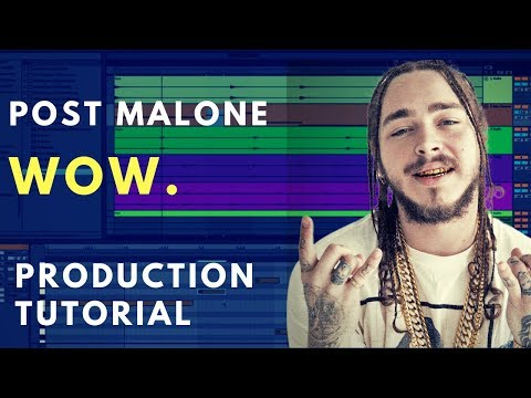 Production Tutorial: Wow. - Post Malone | Sound Design thumbnail
