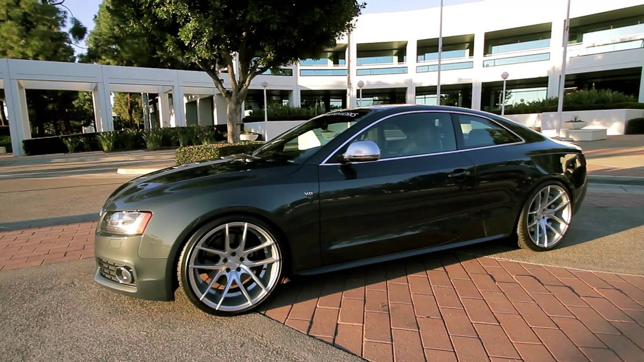 Audi S5 On 20 Quot Niche Targa Wheels Rims Youtube