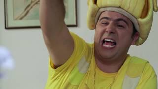 فوزي موزي وتوتي – نكتة الموز – The banana joke