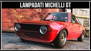 GTA Online: Красивая спорт классика Lampadati Michelli GT