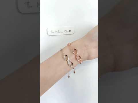 Infinity bracelet video 1
