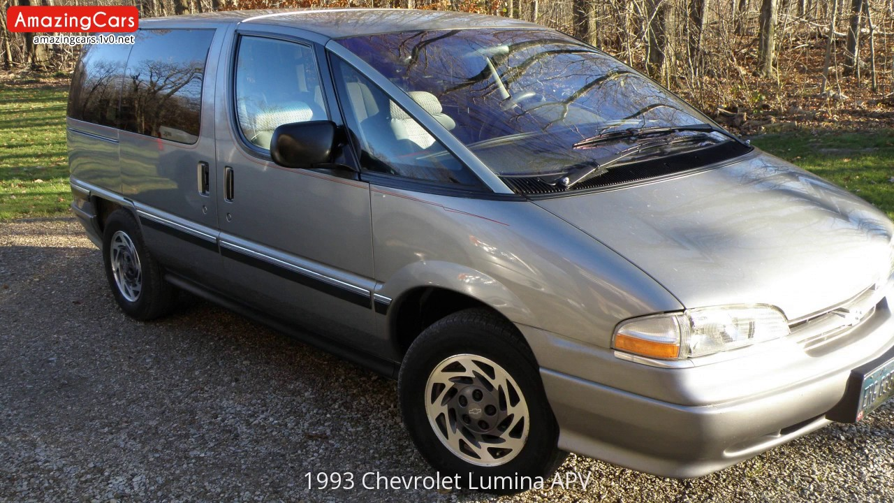 1993 Chevrolet Lumina Apv Youtube