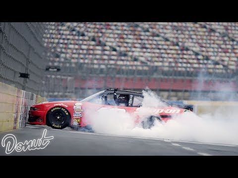 The Art of Celebration with NASCAR Driver Joey Logano | Donut Media
