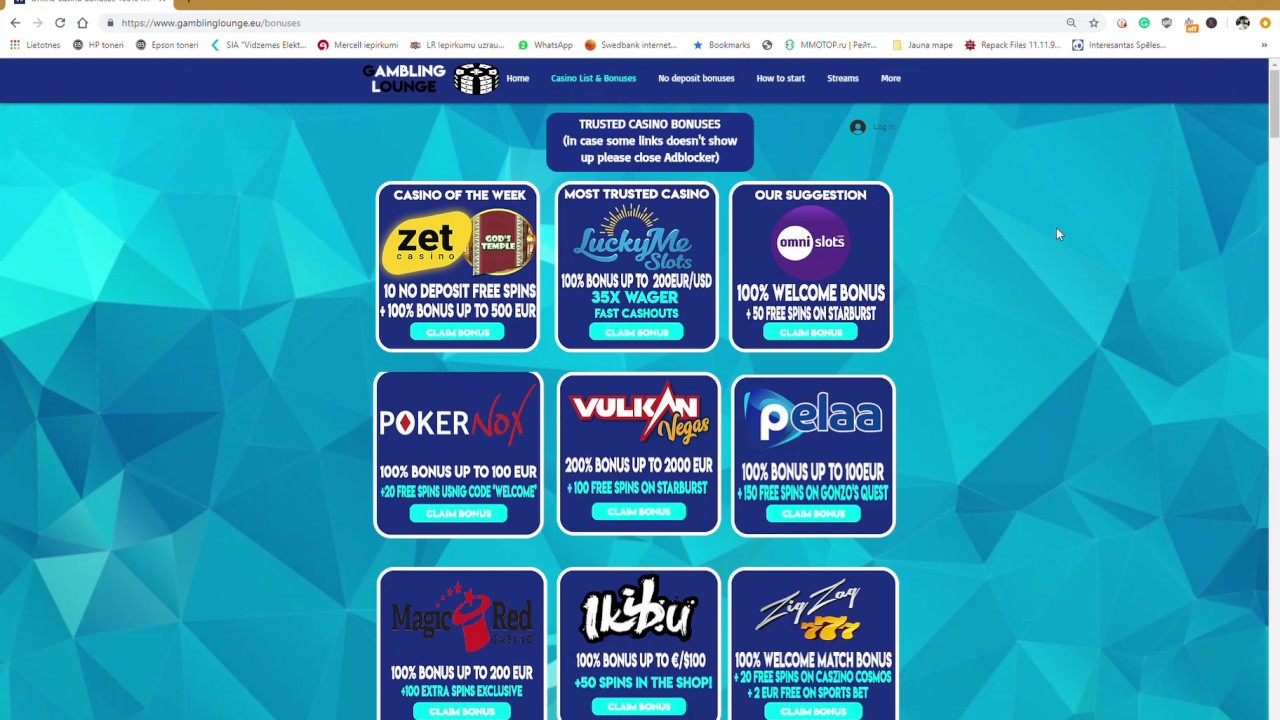Top 100 Casinos