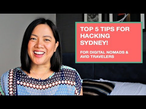 Top 5 Tips for Hacking Sydney (Calling All Digital Nomads and Avid Travelers!)
