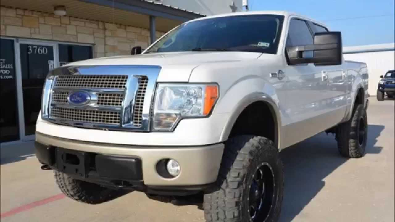 2009 Ford F-150 King Ranch 6 Inch Rough Country Lifted ...
