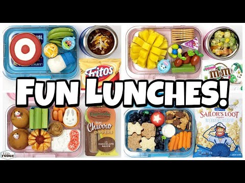 New Lunch Boxes are BACK! 🍎 Fun Lunch Ideas