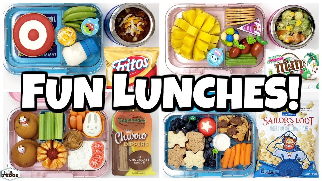 Download New Lunch Boxes are BACK! 🍎 Fun Lunch Ideas