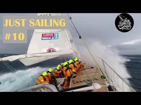 In the heart of a southern ocean's storm - Just Sailing #10 - The Sailing Frenchman