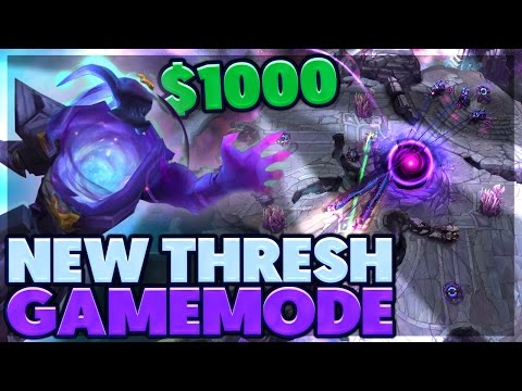 GLOBAL HOOKS!!! | CRAZIEST GAMEMODE EVER | $1000 THRESH GAME | BunnyFuFuu