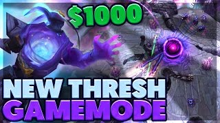 GLOBAL HOOKS!!! | CRAZIEST GAMEMODE EVER | $1000 THRESH GAME | BunnyFuFuu