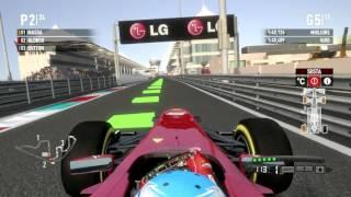 F1 2011 Gameplay Ita PC Gran Premio di Abu Dhabi Gara 16# -Nell