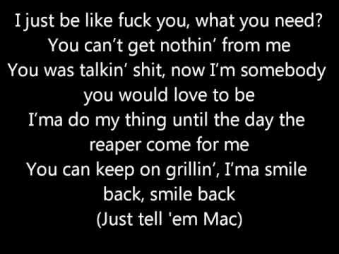 Smile Back - Mac Miller *Lyrics*