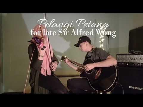 Pelangi Petang ( Allahyarham Dato' Sudirman Hj.Arshad ) - violin cover version by Endang Hyder.