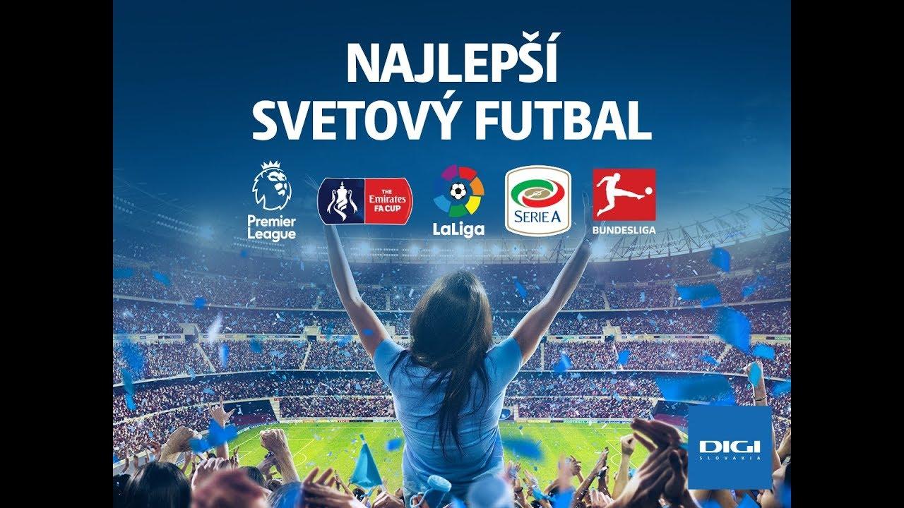 Najlepší Svetový Futbal Na Digi Digi Slovakia