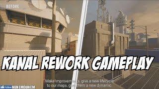 Rainbow Six Siege Kanal Rework Pre Alpha Gameplay & Theme Park