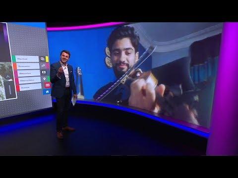 """""""سلي حظرك""""..عازف البلكونة في مصر يعزف لجيرانه وقت الحظر  - نشر قبل 4 ساعة"""